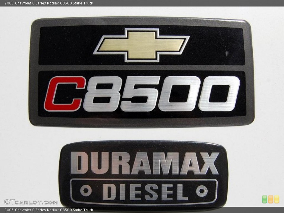 2005 Chevrolet C Series Kodiak Badges and Logos