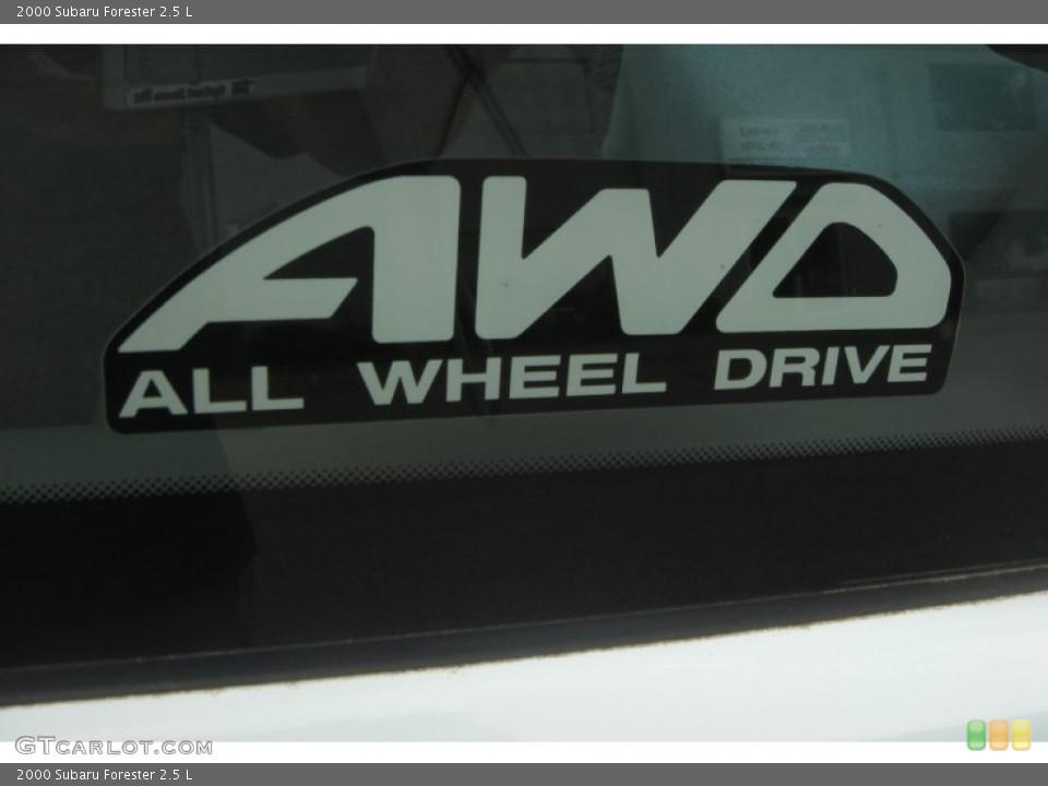 2000 Subaru Forester Badges and Logos