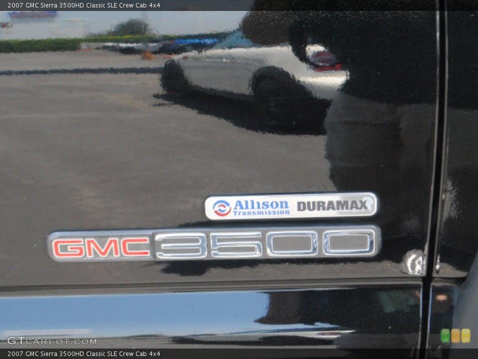 2007 GMC Sierra 3500HD Badges and Logos
