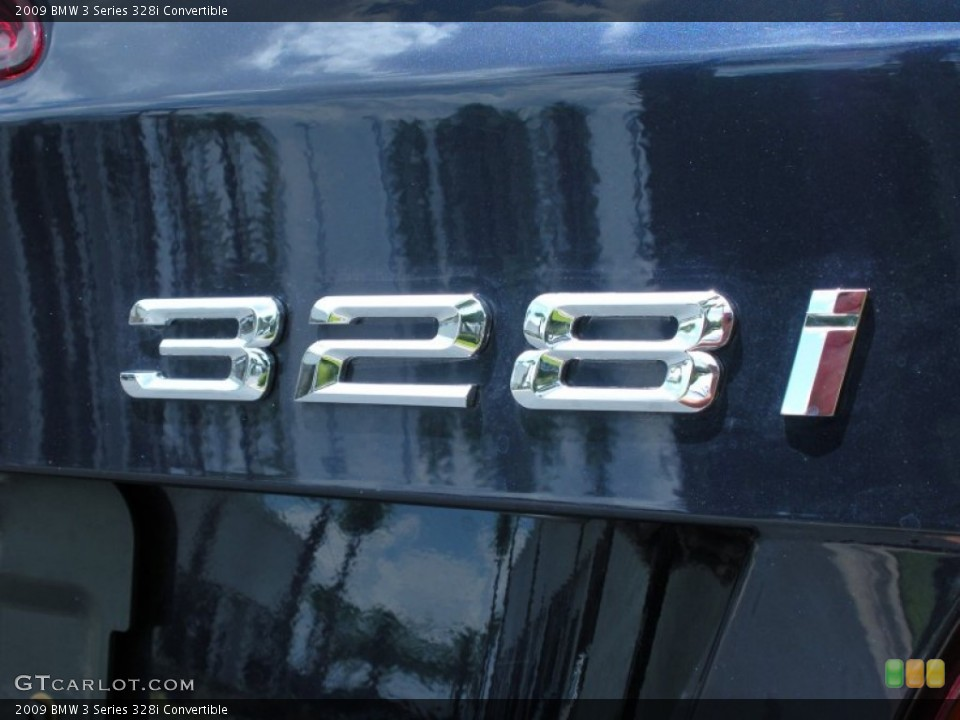 2009 BMW 3 Series Badges and Logos