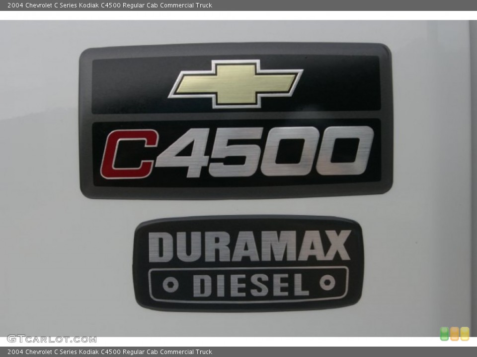 2004 Chevrolet C Series Kodiak Badges and Logos