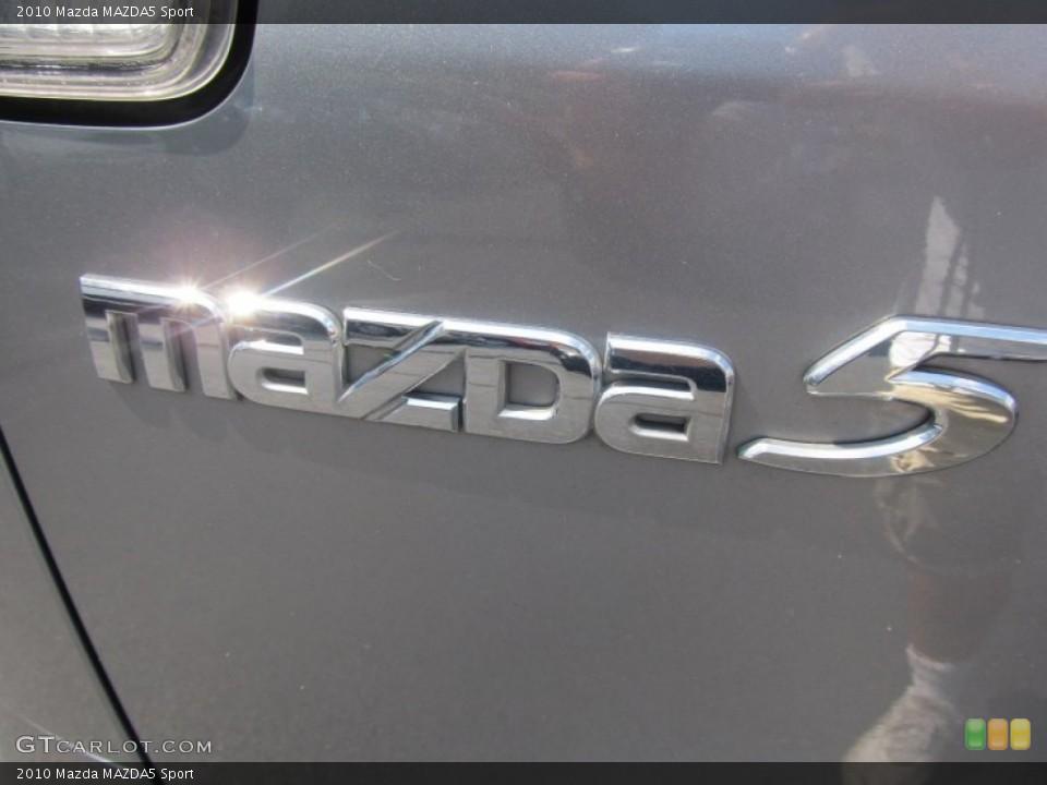2010 Mazda MAZDA5 Badges and Logos