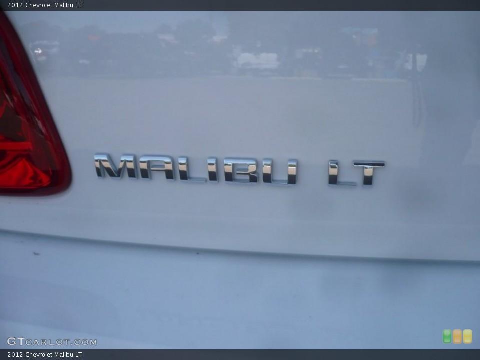 2012 Chevrolet Malibu Badges and Logos