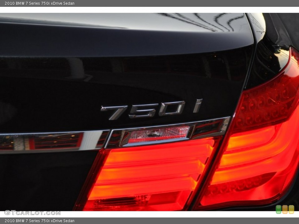 2010 BMW 7 Series Custom Badge and Logo Photo #55048797