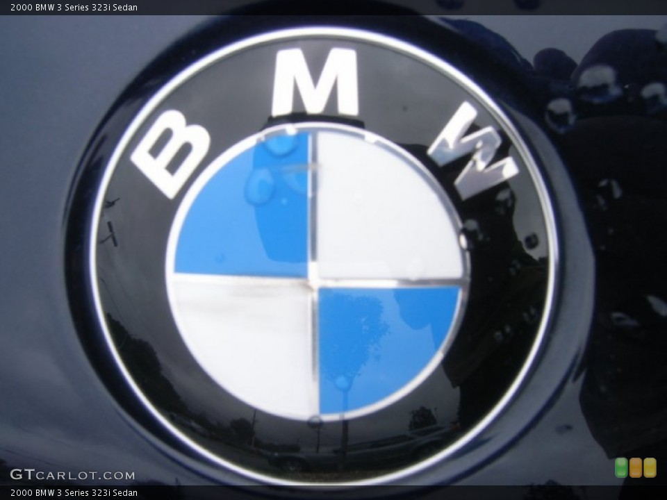 2000 BMW 3 Series Badges and Logos