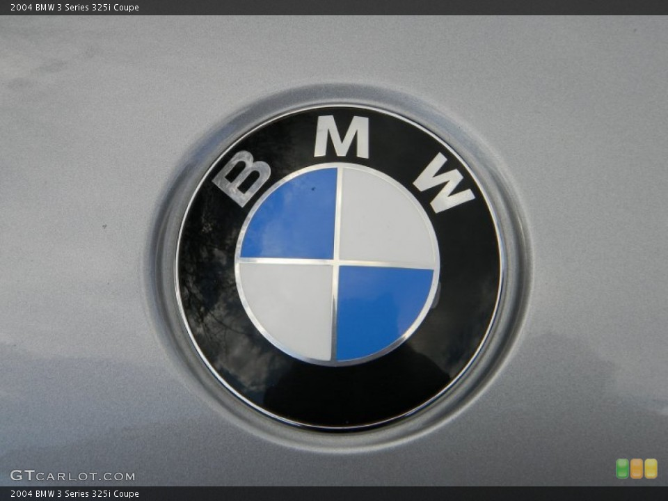 2004 BMW 3 Series Badges and Logos