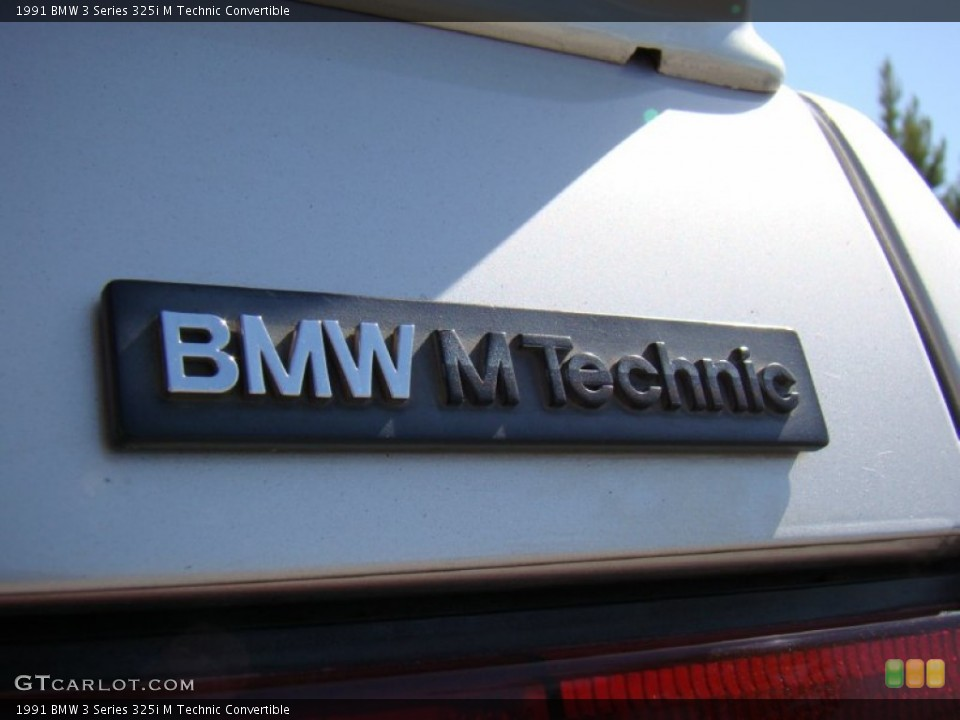 1991 BMW 3 Series Badges and Logos