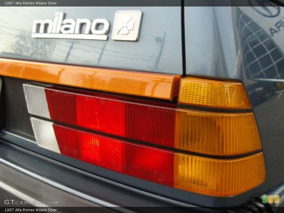 1987 Alfa Romeo Milano Custom Badge and Logo Photo #58242598