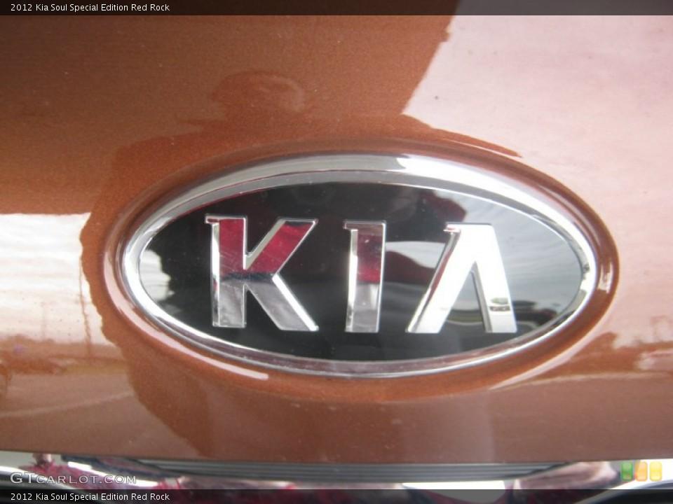 2012 Kia Soul Badges and Logos