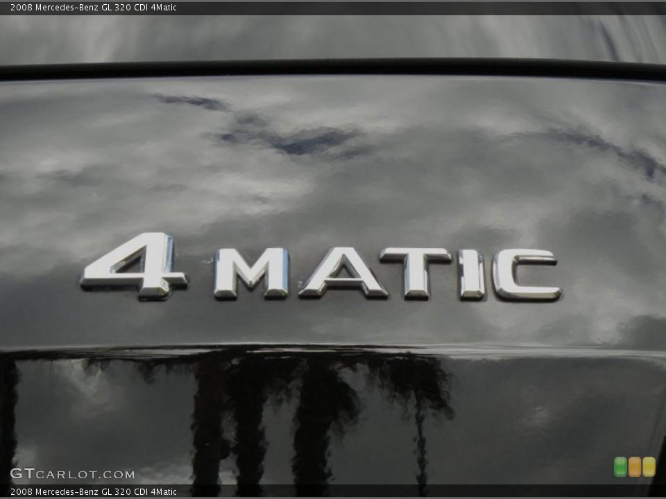 2008 Mercedes-Benz GL Badges and Logos
