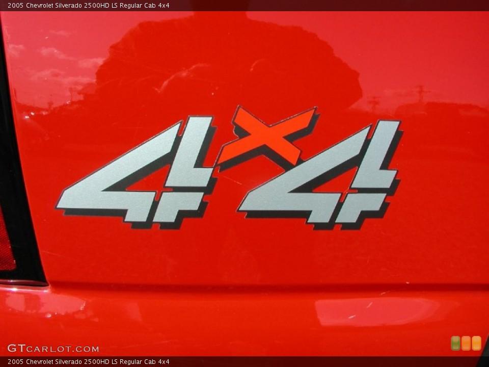 2005 Chevrolet Silverado 2500HD Custom Badge and Logo Photo #62887298