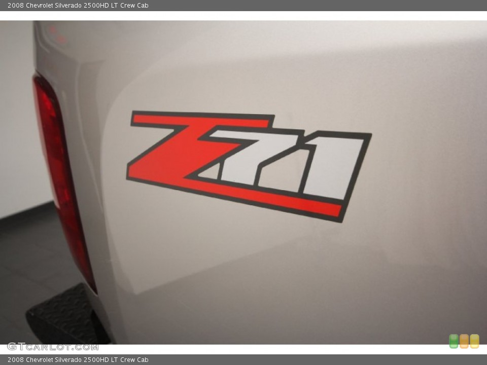 2008 Chevrolet Silverado 2500HD Badges and Logos
