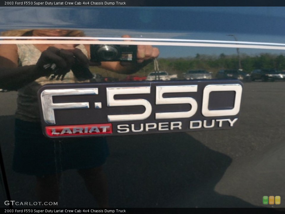 2003 Ford F550 Super Duty Badges and Logos | GTCarLot.