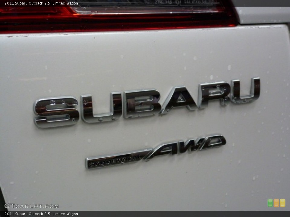 2011 Subaru Outback Badges and Logos