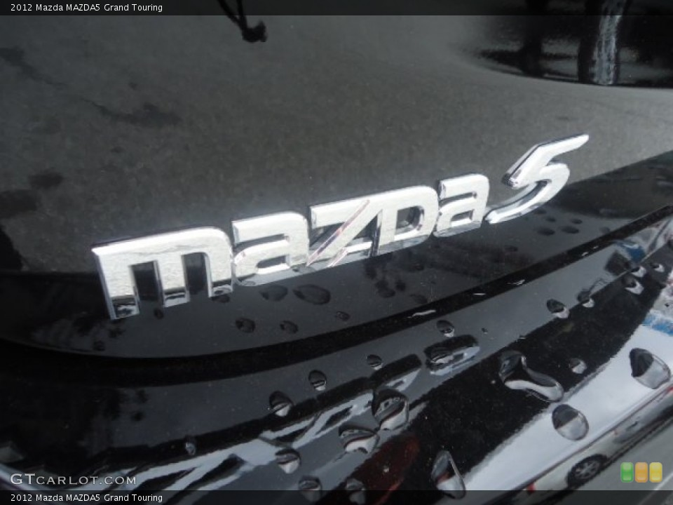 2012 Mazda MAZDA5 Badges and Logos