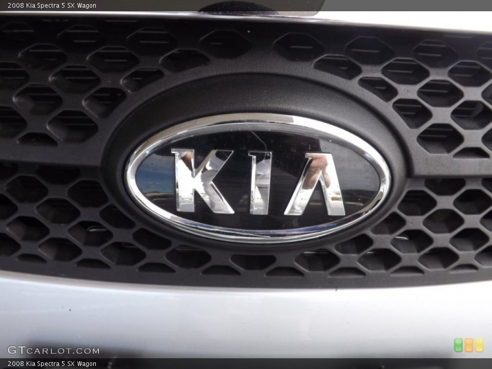 2008 Kia Spectra Badges and Logos
