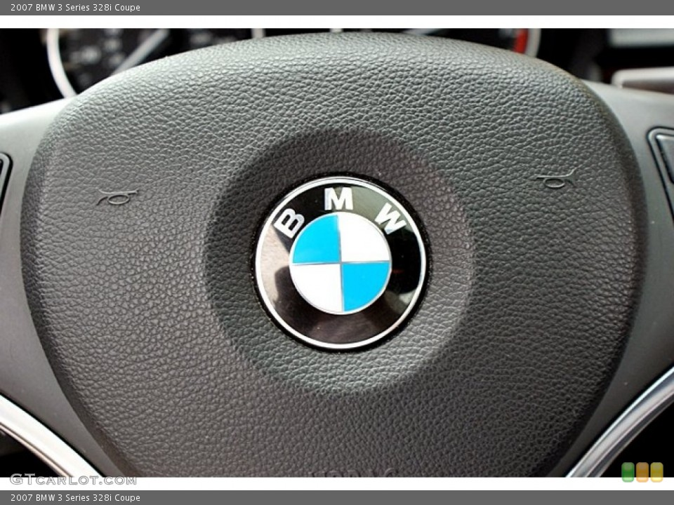 2007 BMW 3 Series Badges and Logos