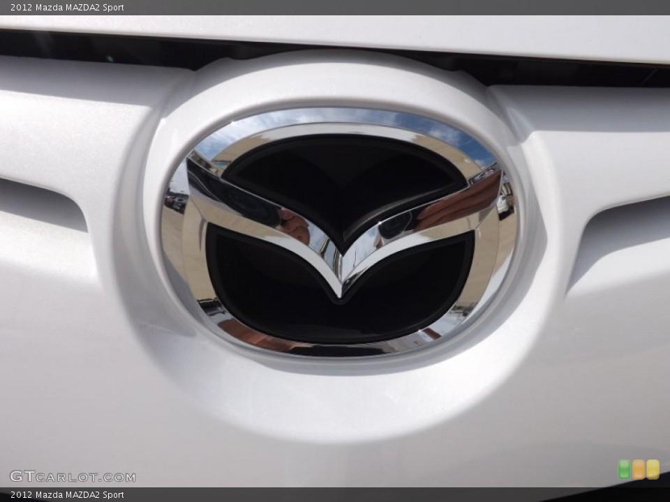 2012 Mazda MAZDA2 Badges and Logos