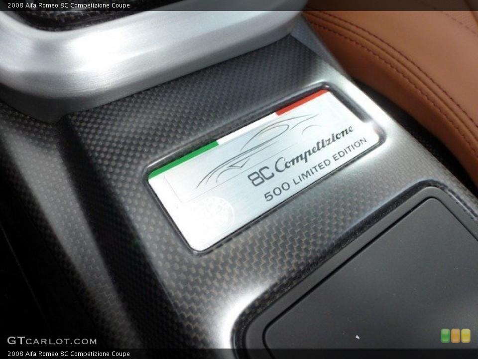 2008 Alfa Romeo 8C Competizione Badges and Logos
