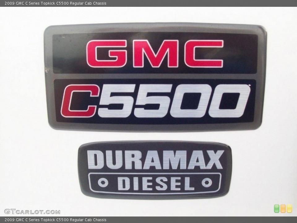2009 GMC C Series Topkick Badges and Logos