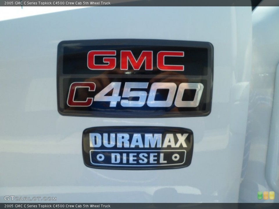 2005 GMC C Series Topkick Badges and Logos