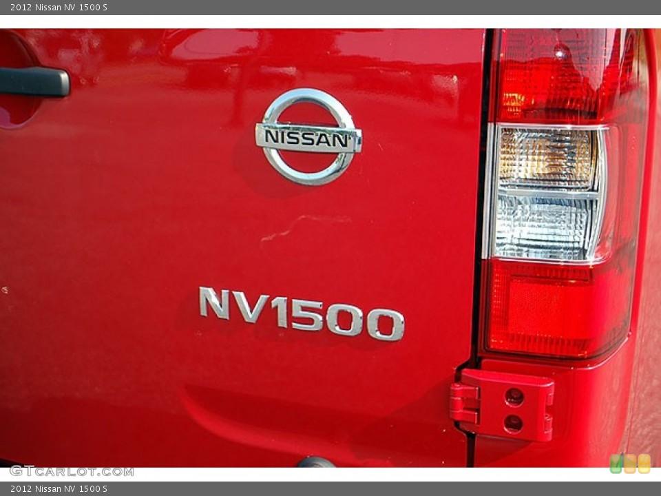 2012 Nissan NV Badges and Logos