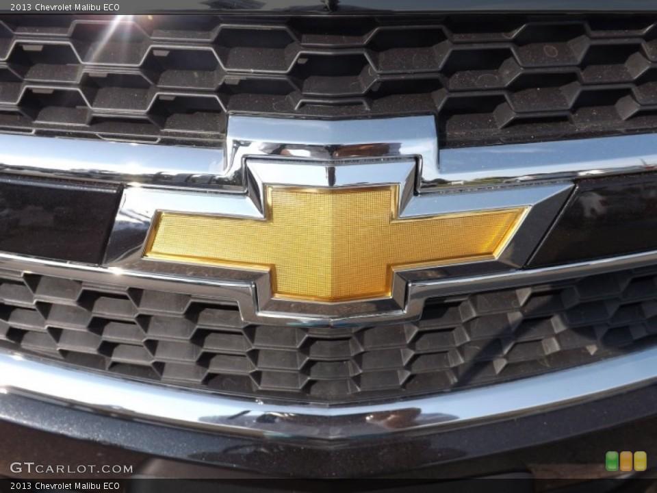 2013 Chevrolet Malibu Badges and Logos