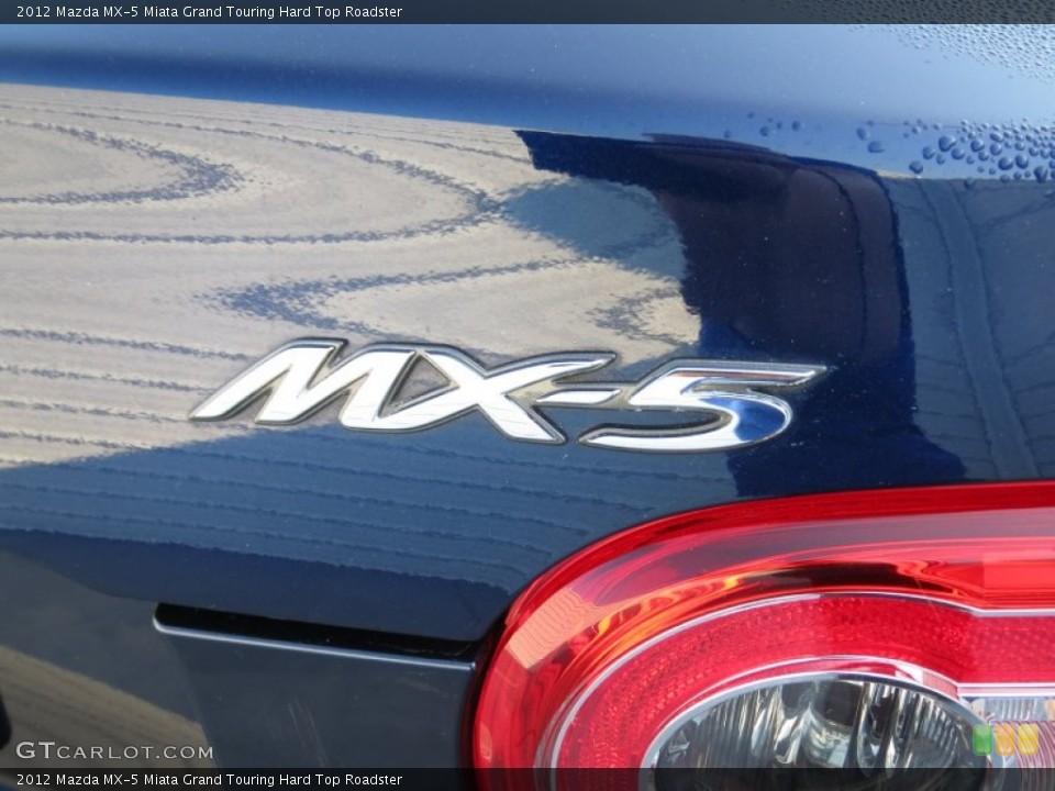2012 Mazda MX-5 Miata Badges and Logos