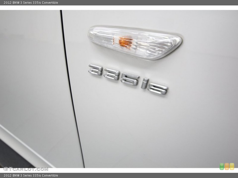 2012 BMW 3 Series Badges and Logos