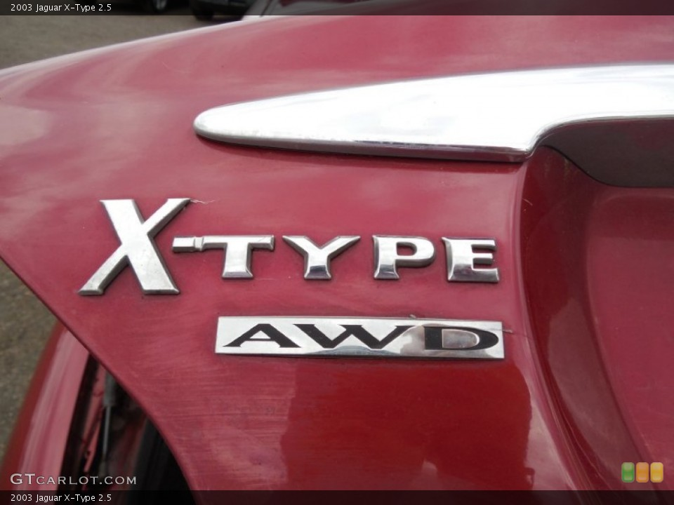 2003 Jaguar X-Type Custom Badge and Logo Photo #79106979