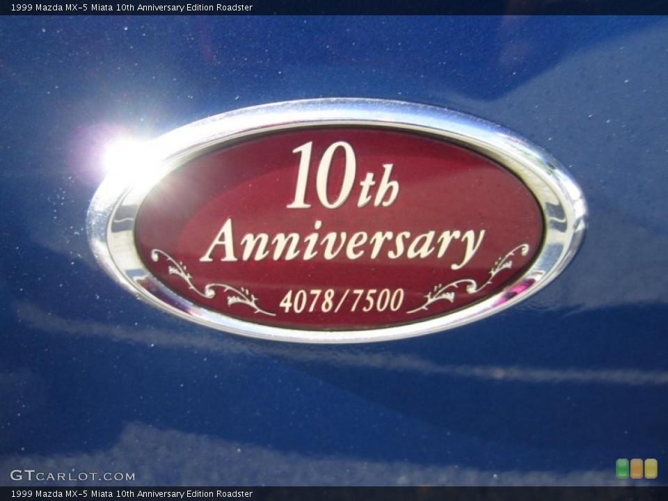 1999 Mazda MX-5 Miata Badges and Logos