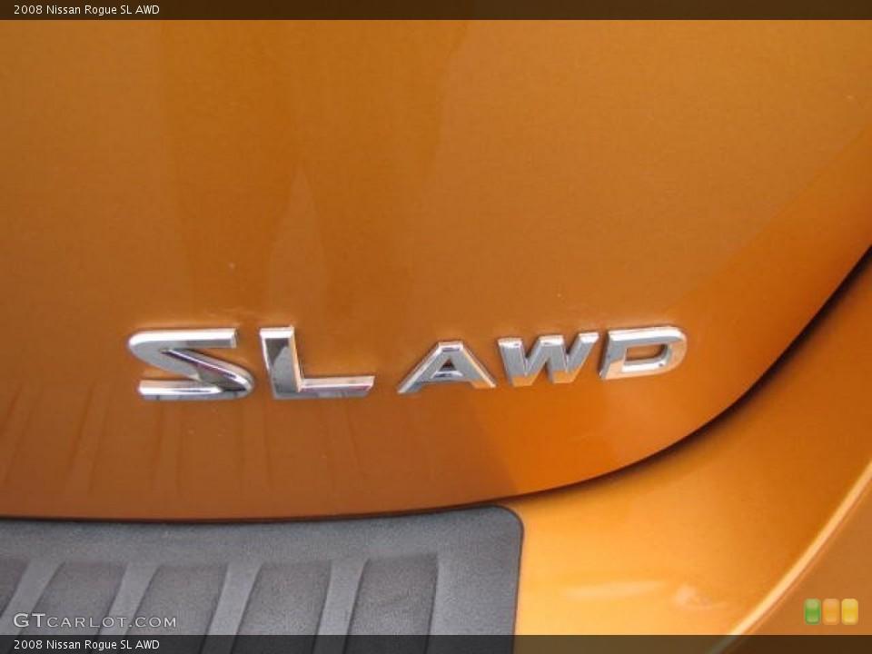 2008 Nissan Rogue Badges and Logos