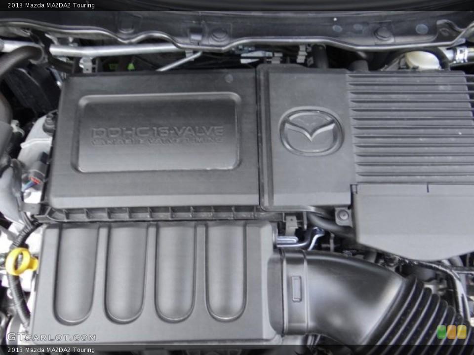 2013 Mazda MAZDA2 Badges and Logos