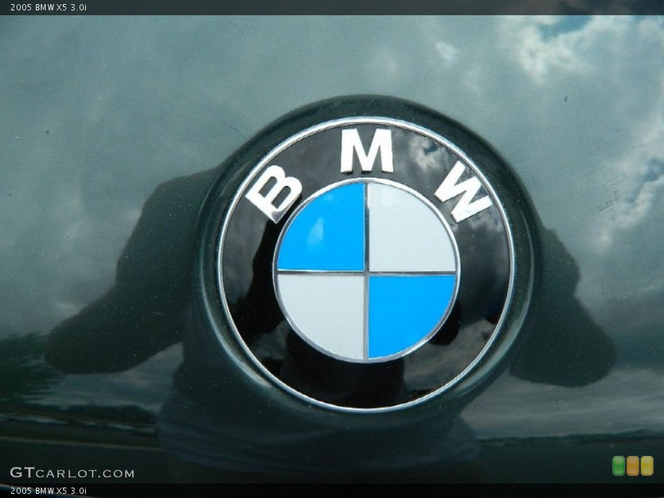 2005 BMW X5 Badges and Logos