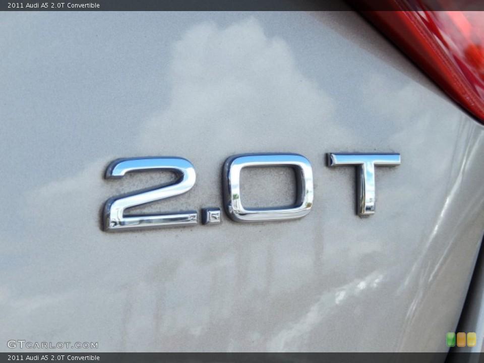 2011 Audi A5 Badges and Logos
