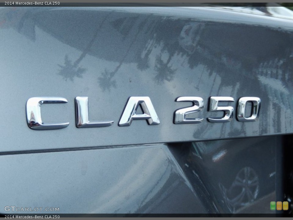 2014 Mercedes-Benz CLA Badges and Logos