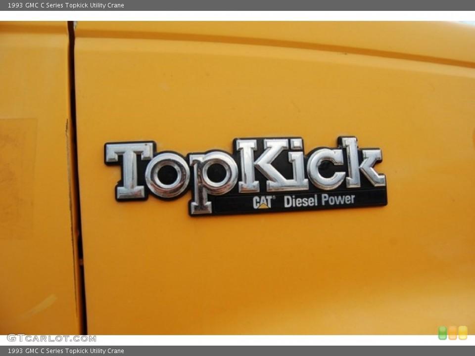 1993 GMC C Series Topkick Badges and Logos