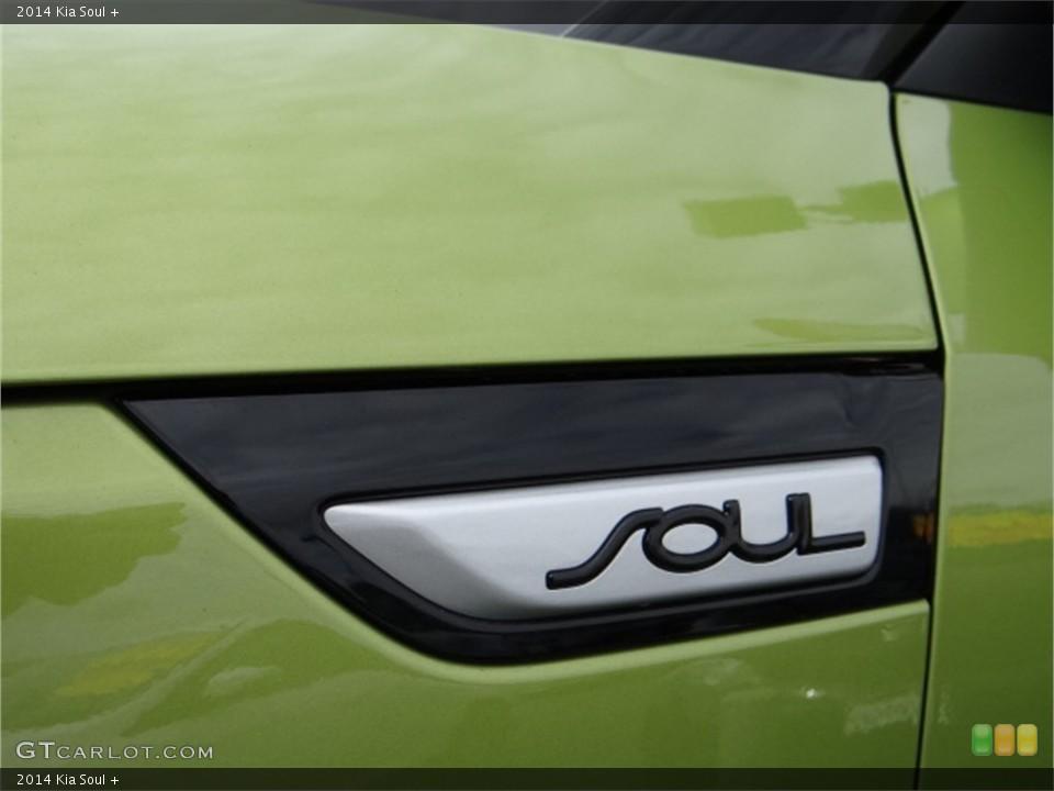2014 Kia Soul Badges and Logos