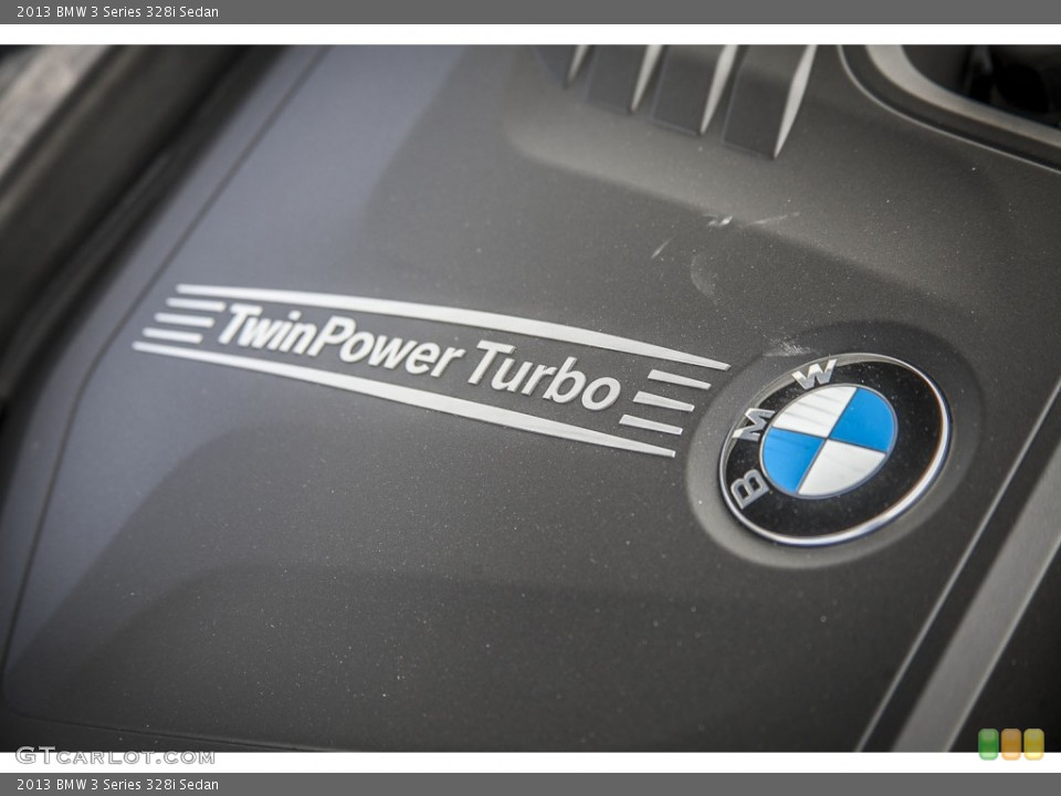 2013 BMW 3 Series Badges and Logos