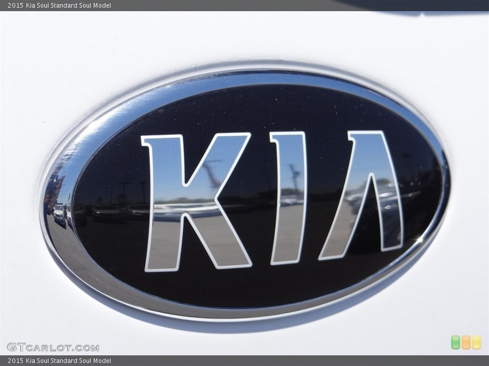 2015 Kia Soul Badges and Logos