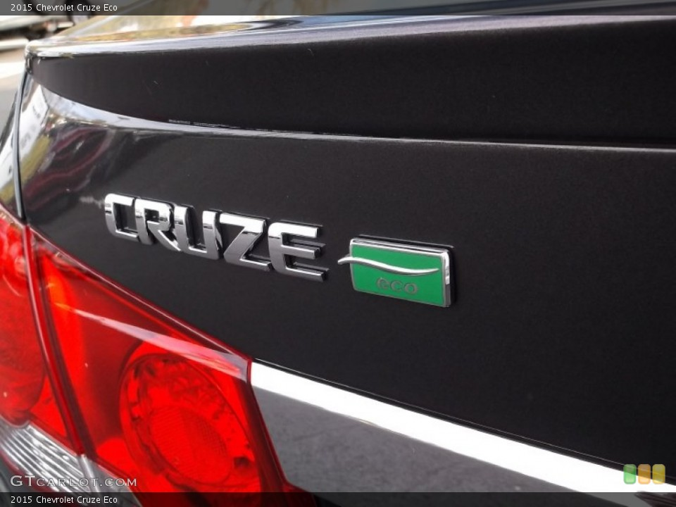 2015 Chevrolet Cruze Badges and Logos