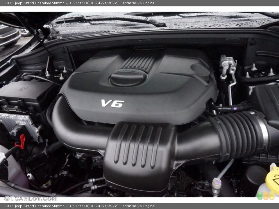 36 Liter Dohc 24valve Vvt Pentastar V6 Engine For The 2015 Jeep