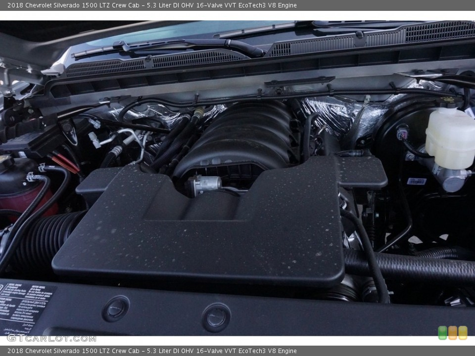 5.3 Liter DI OHV 16-Valve VVT EcoTech3 V8 2018 Chevrolet Silverado 1500 Engine