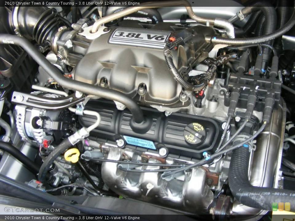 3.8 Liter OHV 12-Valve V6 Engine for the 2010 Chrysler ...
