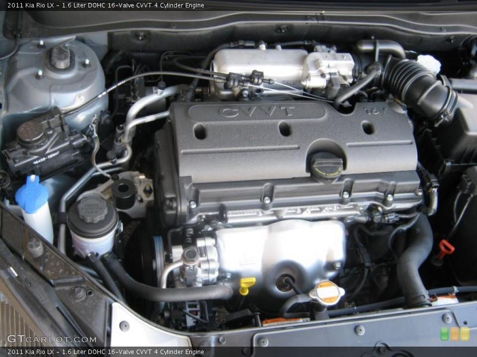 1.6 Liter DOHC 16-Valve CVVT 4 Cylinder Engine for the ...