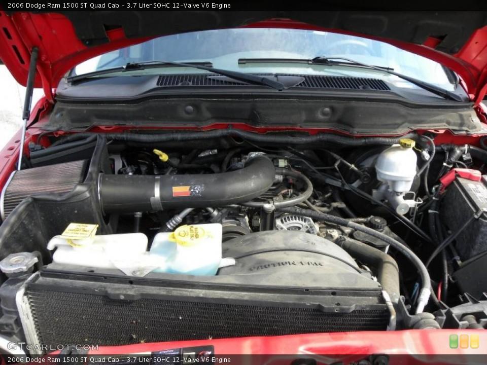 2006 dodge ram 1500 v6 horsepower