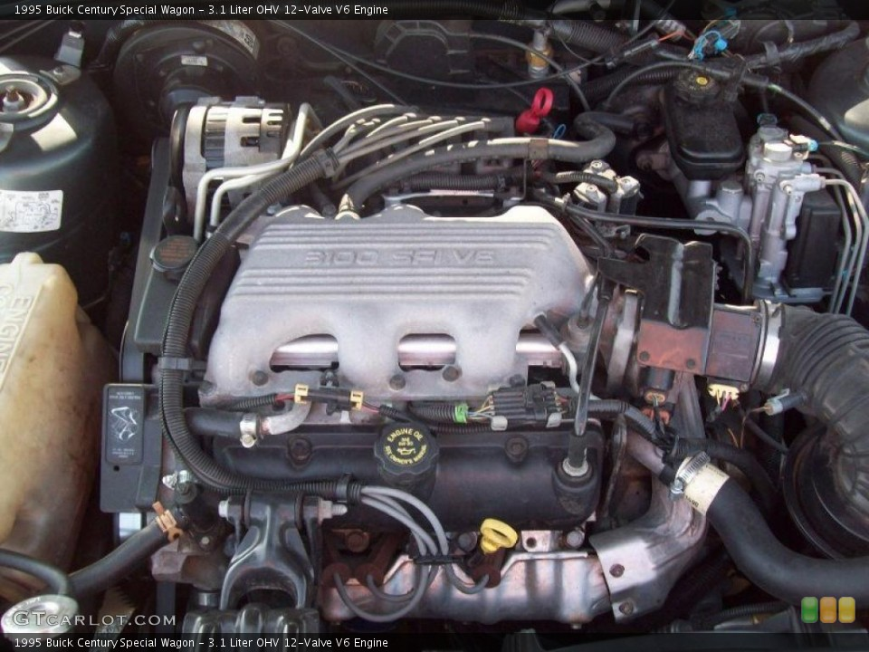 Remove Spark Plug Wires from 3100 V6
