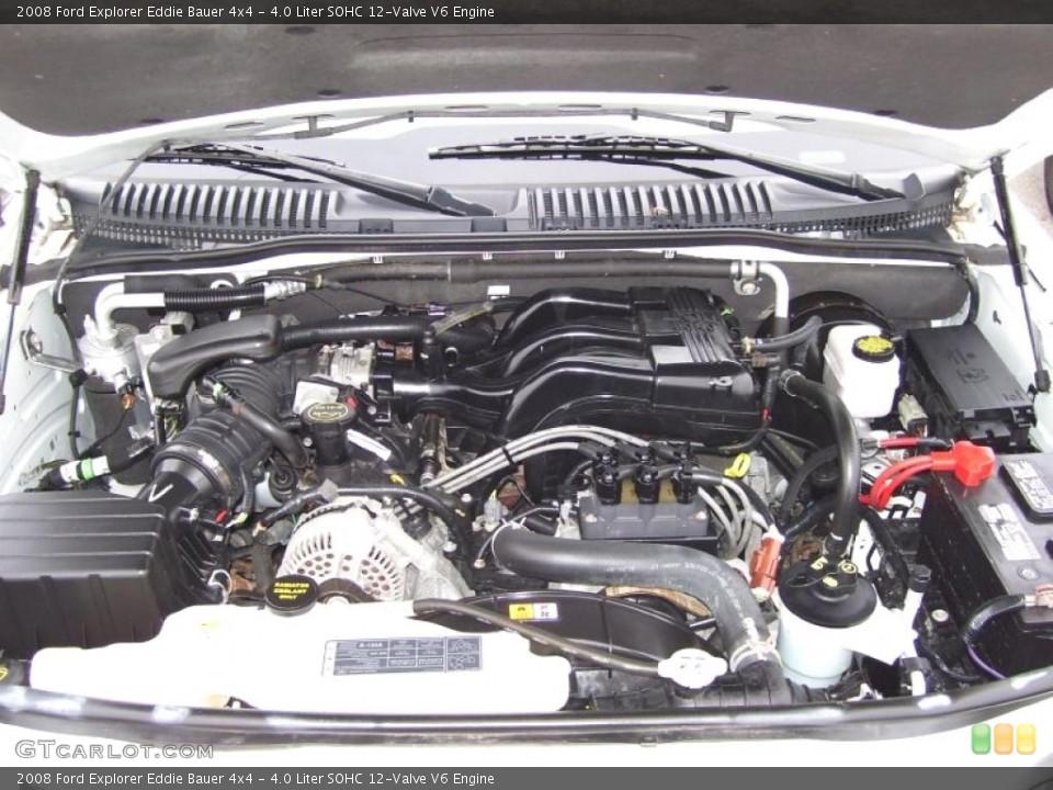 4.0 Liter SOHC 12-Valve V6 Engine for the 2008 Ford Explorer #39055032