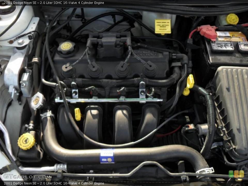 ... Liter SOHC 16-Valve 4 Cylinder 2001 Dodge Neon Engine | GTCarLot.com