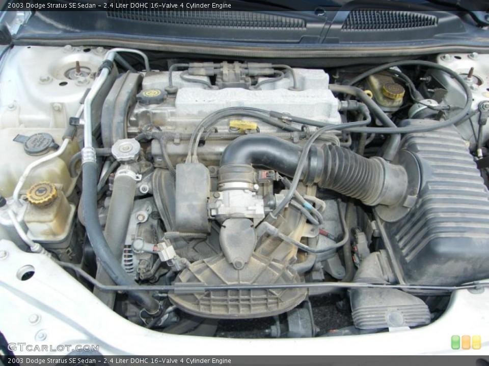 ... DOHC 16-Valve 4 Cylinder Engine for the 2003 Dodge Stratus #39145486